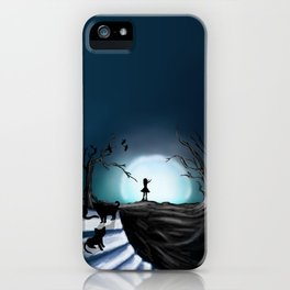 My Part to the Longest Illustration. iPhone Case