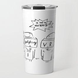 Gaslighting. Travel Mug