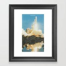 Engine | Design II Framed Art Print