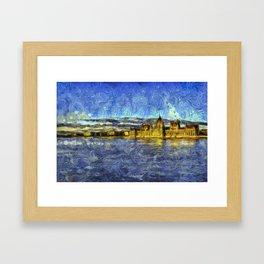 Budapest Vincent Van Gogh Framed Art Print