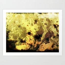 Holy Yellow Devil Art Print