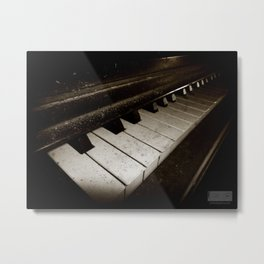 Hidden Piano Metal Print