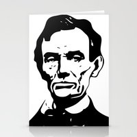lincoln Stationery Cards featuring LINCOLN $ by b & c
