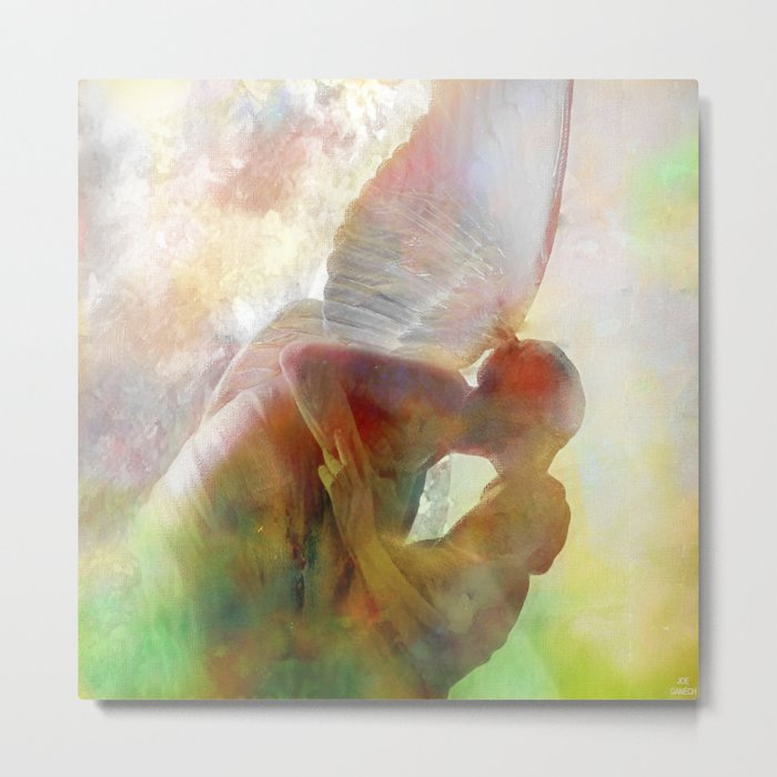 The kiss of the angel Metal Print