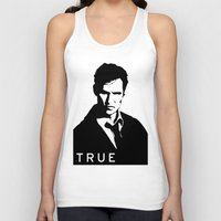true detective Tank Tops featuring True Detective by Green'n'Black