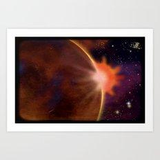 SPACE 01022015 – 203 Art Print