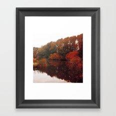 Autumn Scenery #5 Framed Art Print