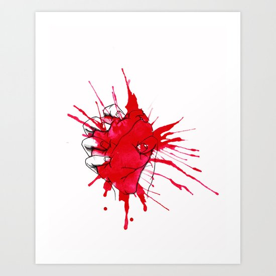 Crushed Art Print
