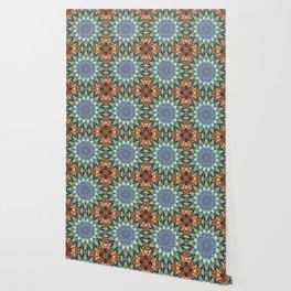 Mosaic mandalas Wallpaper