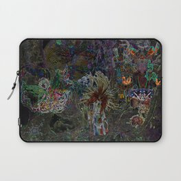 Witch Doctor and Baba Yaga Laptop Sleeve