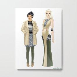Fashion Journal: Day 16 Metal Print