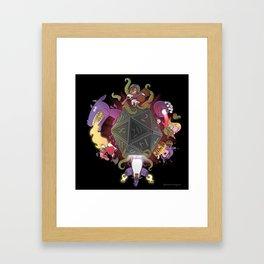 20 Shades of Yay! Framed Art Print