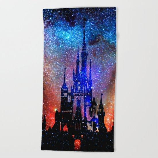 Fantasy Disney. Nebulae Beach Towel
