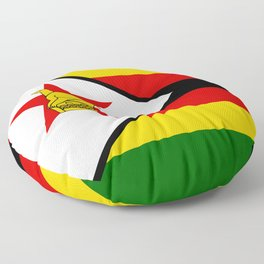 Flag of Zimbabwe Floor Pillow