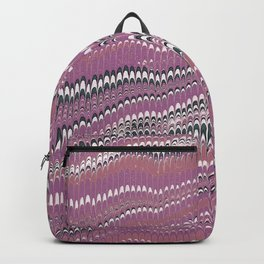 Electrified Ripples Pink Backpack