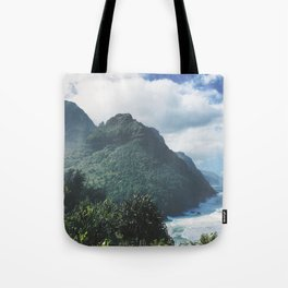 Na Pali Coast Kauai Hawaii Tote Bag