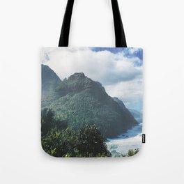 Na Pali Coast Kauai Hawaii Tote Bag