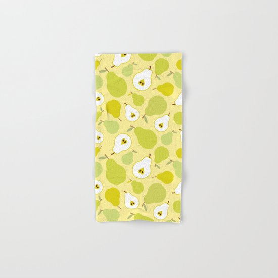 Honey pears  Hand & Bath Towel