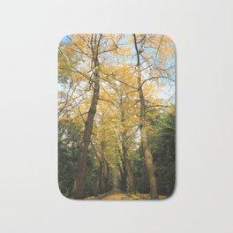Ginkgo biloba trees Bath Mat