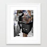 lobster Framed Art Prints featuring Lobster by Vanitylife