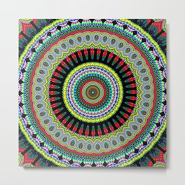 exotic Mandala Metal Print