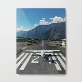 Lukla, Nepal Metal Print