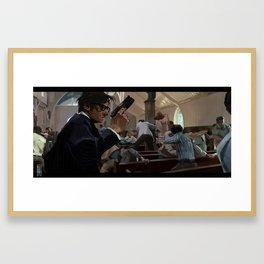 Scene Study KM. Framed Art Print
