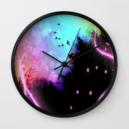 Magic in the Air Wall Clock