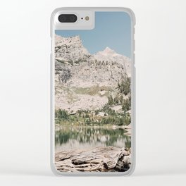 Amphitheater Lake Clear iPhone Case