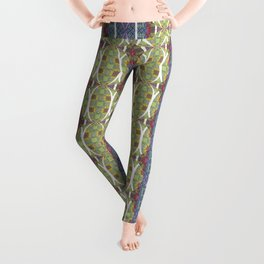 Ancient Artistic Styles Reimagined Leggings