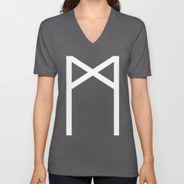 Man Unisex V-Neck