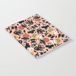 Halloween Gang Pink Notebook