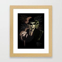 G-Man on Holiday Framed Art Print