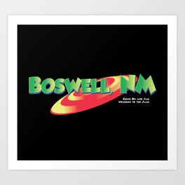 Boswell, NM by Grant Spanier Art Print