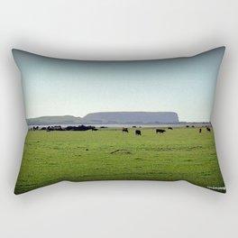 Grazing property in Tasmania Rectangular Pillow