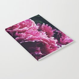 Peony Passion 3 Notebook