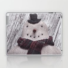 Primitive Folk Art Snowman Laptop & iPad Skin