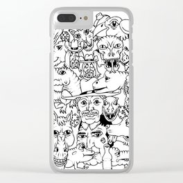 Western Roundup Clear iPhone Case