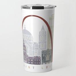 St Louis skyline poster Travel Mug