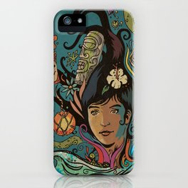 Wahine #4 iPhone Case