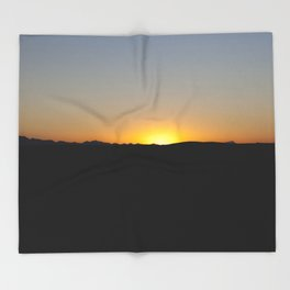 the sun will come out tomorrow Throw Blanket