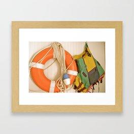 Lake Club Framed Art Print