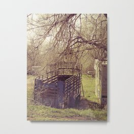abandon trailer Metal Print