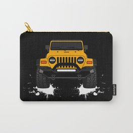 the yellow JEEPP Carry-All Pouch