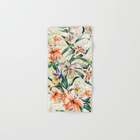 RPE Seamless Floral III Hand & Bath Towel