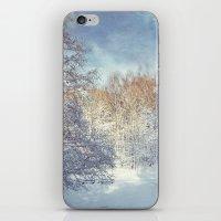 blanket iPhone & iPod Skins featuring White Blanket by Dirk Wuestenhagen Imagery
