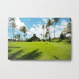Lanakila 'ihi'ihi O Iehowa O Na Kaua Church Keanae Maui Hawaii Metal Print