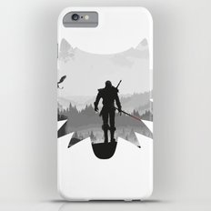 The white wolf iPhone 6 Plus Slim Case