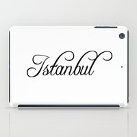 istanbul iPad Cases featuring Istanbul by Blocks & Boroughs