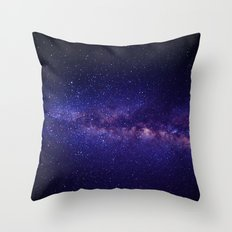In the space Throw Pillow